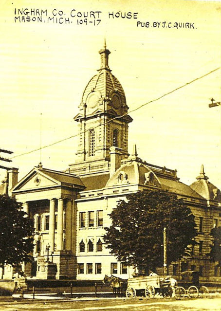 Ingham County Court House prior to 1912